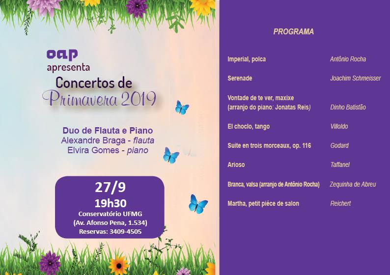 19 set - Concerto Primavera