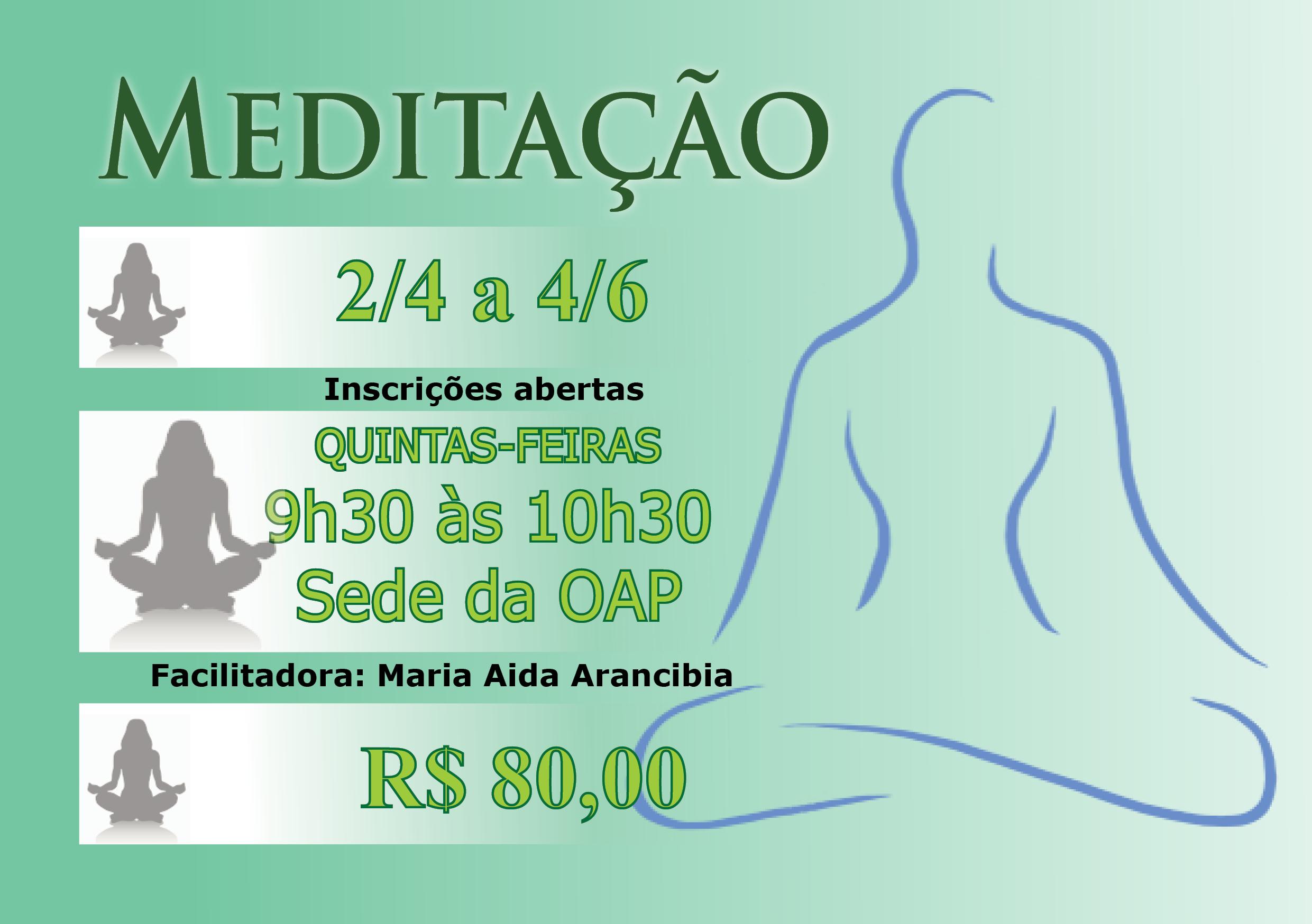 20 jan - Meditação